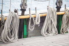 Details of a tall ship Royalty Free Stock Image