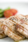 Details of tasty cooked meat Royalty Free Stock Photography
