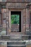 details tempelet Arkivfoto