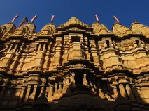 Details of temple in Rajasthan. India Stock Images