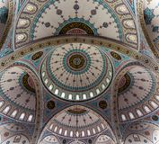 Interior of mosque stock photography