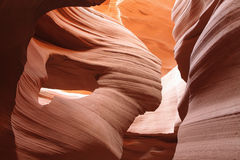 Details of textures in Lower Antelope Canyon Royalty Free Stock Image