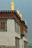 Details of tibetan temple Royalty Free Stock Image