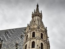 Details of the St. Stephens Cathedral royalty free stock photos