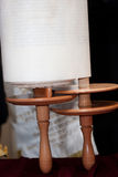 Details of the Torah scroll Stock Image