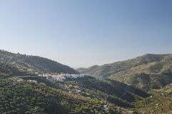 Details towns of La Axarquia Royalty Free Stock Image