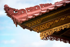 Details of traditional Hindu temple Royalty Free Stock Photo