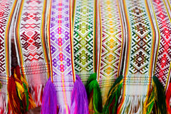 Details of a traditional Lithuanian weave Royalty Free Stock Photography