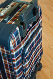 Details of travel suitcase Stock Image
