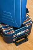 Details of travel suitcase Royalty Free Stock Image