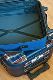 Details of travel suitcase Stock Photos