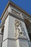 Details of Triumphal Arch de l Etoile ( Stock Photo