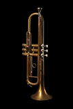 Details of a Trumpet Royalty Free Stock Photos