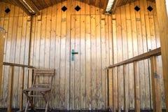 The cabins of Versilia Stock Photos