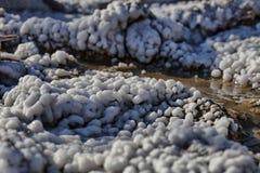 Details van één of andere bloemkool zoals zoute vorming, Parajd, Transyl royalty-vrije stock afbeeldingen