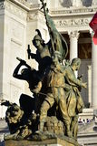 Details van Altair van het Vaderland, Rome Italië Stock Afbeelding