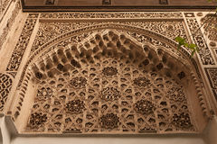 Details van Arabische decoratie Stock Foto