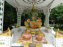 Details van beeldende kunsten bij Boeddhistische tempel Royalty-vrije Stock Afbeelding