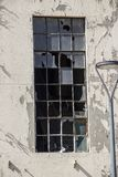 Details van de bouw van vensters stock foto's