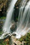 Details van de cascade van Somosierra Stock Afbeeldingen