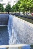 Details van de het Noordenpool in 9-11 Memorial Park in New York, de V.S. stock afbeelding