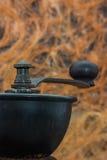 Details van de koffiemolen Stock Foto