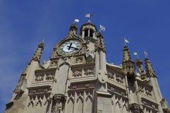 Details van de Marktkruis van Chichester in het centrum van de stad Stock Foto's