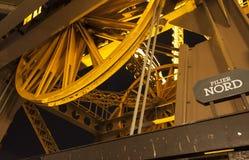 Details van de toren van Eiffel in Parijs, Frankrijk Royalty-vrije Stock Afbeeldingen