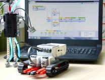 Details van de uitrusting voor robotica Royalty-vrije Stock Afbeeldingen