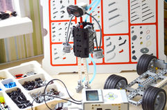 Details van de uitrusting voor robotica Royalty-vrije Stock Foto