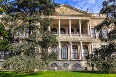 Details van Dolmabahce-paleis Stock Afbeeldingen