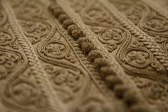 Details van een Marokkaanse djellaba Royalty-vrije Stock Foto
