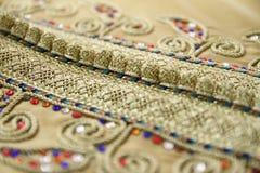 Details van een Marokkaanse kaftan Royalty-vrije Stock Afbeelding