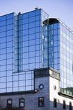 Details van een modern gebouw stock foto