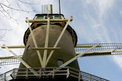 Details van een torenmolen Stock Afbeeldingen
