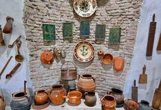 Details van een traditioneel landelijk huis in Roemenië stock afbeeldingen