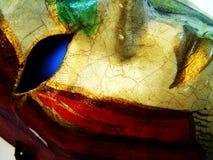 Details van het oude schilderen Stock Afbeeldingen