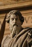 Standbeelden in Heilige Peter Plaza royalty-vrije stock foto