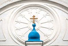 Details van klooster Bogolubovo. Royalty-vrije Stock Afbeeldingen