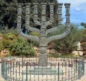 Details van Knesset Menorah Royalty-vrije Stock Fotografie