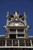 Details van Museum Cluny in Parijs Stock Foto's