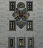 Details van Oud stadhuis Stock Foto