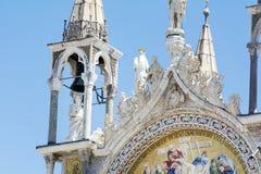 Details van palazzo Ducale, Venetië, het Italië-Sluiten omhoog royalty-vrije stock foto