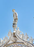 Details van palazzo Ducale, Venetië, het Italië-Sluiten omhoog royalty-vrije stock fotografie