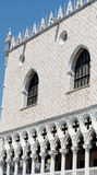 Details van palazzo Ducale, Venetië, het Italië-Sluiten omhoog stock fotografie