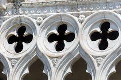Details van palazzo Ducale, Venetië, Italië royalty-vrije stock fotografie