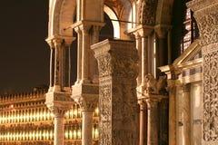 Details van St. de Basiliek van Marc stock foto