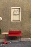 Details van stratencastegneto Carducci op Bolgheri-gebied binnen Royalty-vrije Stock Foto