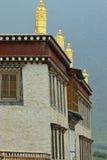 Details van tibetan tempel Royalty-vrije Stock Afbeelding
