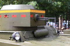 Details van torentje van de tank Stock Afbeelding